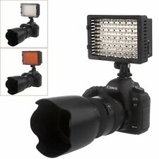 Neewer cn-160 160 LED Fotocamera/Videocamera Video illuminazione 5400k per Canon Nikon