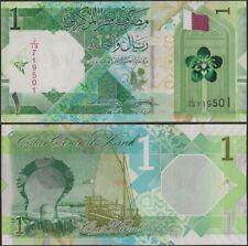 Qatar PNew B219 1 Riyal 2020 Dhow/Flag/Pearl @ EBS