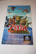 Zelda The Wind Waker GameCube REPLACEMENT MANUAL ONLY! NO GAME! FREE SHIP!
