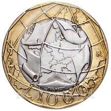 1997 * 1000 lire Italia Unione Europea, Mappa Errata