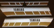 YAMAHA RD400 RD400C 1976  DECAL SET