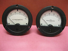 Lot Of 2 Wacline Gauges - Model Aed , F. S. = 100 Ua