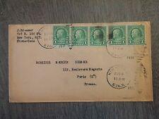 P984. ENVELOPPE 1931. NEW-YORK A PARIS. Correspondance M DIGEAUX