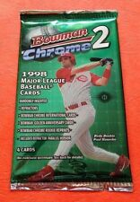 ONE 1998 Bowman Chrome Series 2 HOBBY Pack Rookie RC?