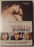 BREAKING AND ENTERING DVD REGION 1 - NEW AND SEALED