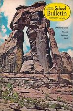 national geographic-SCHOOL BULLETIN-feb 14,1966-CANYONLANDS.