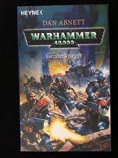 Warhammer 40 000. Guerreros Fantasma Von Dan Abnett (2005, Libro de Bolsillo)