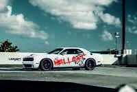 Dodge Challenger Charger hellcat srt decals, stickers, vinyls 3M