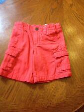 Arizona Boys Shorts Size 3T Berry Red NWT