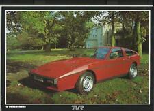 TVR TASMIN  SALES  'BROCHURE' SHEET JANUARY 1980