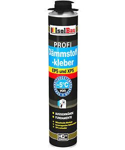 Dämmstoffkleber PROFI Klebeschaum 750 ml Perimeterkleber EPS XPS  hohe Qualität