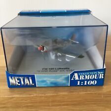 Metal Armour Collection WW2 Fighter Aircraft 1:100 scale Focke Wulf 190 5331 NEW