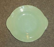 WOODS WARE GREEN BERYL - SANDWICH PLATE -  (G3596)