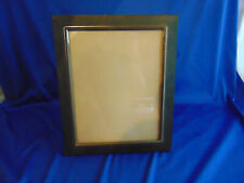 """Dark metal stand alone picture frame 9"""" x 11"""" picture size 7"""" x 9"""" family"""