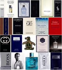 20 Mens Cologne Samples Armani Burberry Cartier Dolce & Gabbana Gucci Hugo Polo