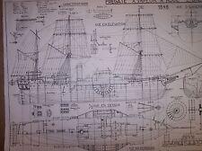 1848 sidewheel steamer ship plans