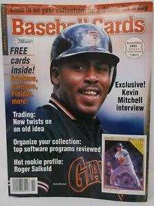 Baseball Cards Magazine November 1991 KEVIN MITCHELL
