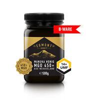 B-WARE Manuka Honig Egmont Honey MGO 450+ UMF 14+ 500g aus Neuseeland