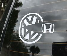 VW Pacman Sticker Decal Volkswagen Mk2 Mk1 Mk3 Mk5 Mk4 Mk6 Mk7 Gti Jetta Golf