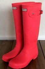 Hunter Boots - Women's Original Tall Rain Boots Hyper Pink Size US 10 NEW