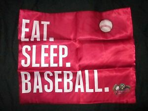 "Sacramento River Cats Red Polyester Satin Pillowcovers Set of Two 18.5"" X 23"""