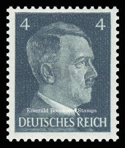 EBS Germany 1941 - Hitler Head - 4 Pfennig - Hitlerkopf - Michel 783 MNH**