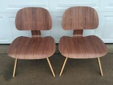 Pair of Modern Eames Molded Plywood Chairs MCM Great Condition