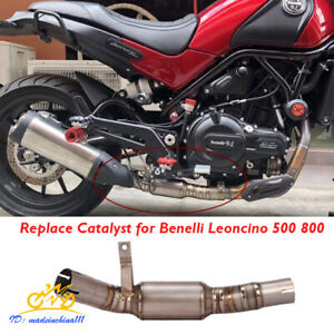 Motorcycle Exhaust Pipe Delete Catalyst for Benelli Leoncino 500 Leoncino 800