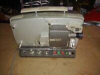 Bolex SM8 Movie Sound Projector Need Belts AS IS