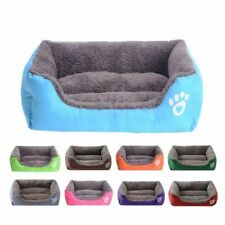 Waterproof Large Pet Kennel Soft Warm Dog Bed Plus Size Puppy Nest Basket House