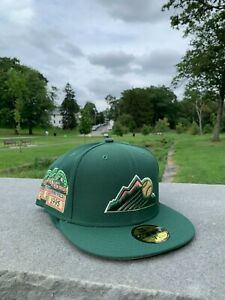Myfitteds Magic Treehouse Colorado Rockies 7 3/4 Pink UV 1995 Coors Field Green