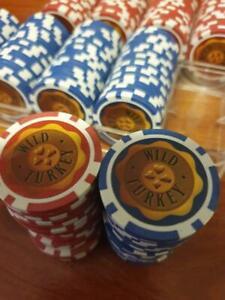 Wild Turkey Poker Chips - 200