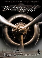 The Birth of Flight: A History of Civil Aviation (DVD, 2010, 3-Disc Set) - NEW!!