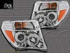 FIT FOR 05-08 NISSAN FRONTIER/05-07 PATHFINDER CHROME CCFL PROJECTOR HEADLIGHTS