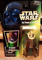 STAR WARS POWER OF THE FORCE BIB FORTUNA W/ HOLD-OUT VINTAGE BLASTER