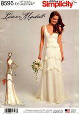 Simplicity Wedding Dress Sewing Patterns | eBay