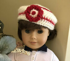 """New 18 inch Doll Beret Beanie Hat Clothes Handmade fits 18"""" American Girl Doll"""