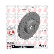 2x Bremsscheibe Bremse NEU ZIMMERMANN (150.2906.32)