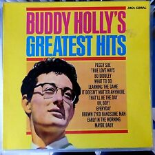 BUDDY HOLLY LP GREATEST HITS GERMANY REISSUE VG++/VG+