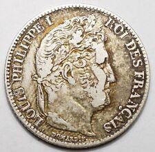 1 FRANC LOUIS-PHILIPPE 1846B ROUEN