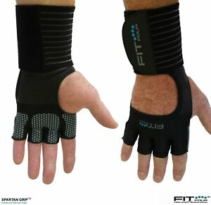 The Spartan Grip with Enhanced Silicone Palm Fit Four Callus Guard Workout glove