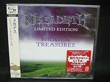 MEGADETH Hidden Treasures JAPAN SHM CD Metallica Hawaii Vixen