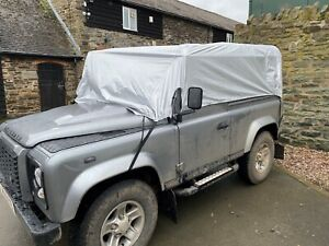 Quality Fitted Half Cover for the Landrover Defender 90