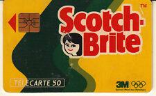 France télécarte 50  Scotch-brite