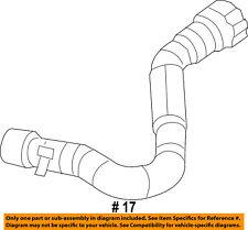Dodge CHRYSLER OEM Dart A/C AC Condenser/Compressor/Line-Heater Hose 68197197AB
