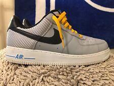 new concept 52eb6 661bd Nike Force 1 One bajo Washington Air, 488298-014, Gris Negro, De Hombre  Talla 10