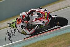 Yonny Hernandez Hand Signed Pramac Ducati 12x8 Photo 2015 MotoGP.