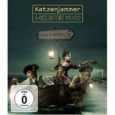 KATZENJAMMER - A KISS BEFORE YOU GO-LIVE IN HAMBURG  BLU-RAY++++++++++++++++ NEU
