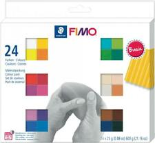 FIMO SOFT Modelliermasse-Set Basic, 24er Set