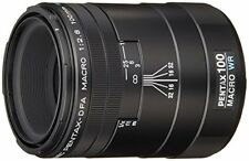 PENTAX Single Focus Macro Lens D FA Macro 100mm F2.8 WR K mount full-size New